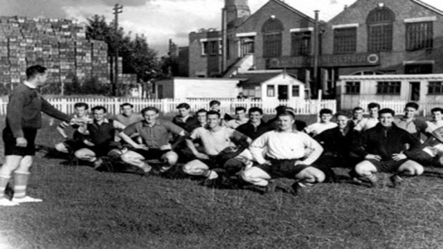 Clapton FC Pre-season Training 1954